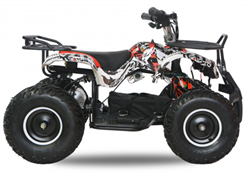 Torino EL-ATV  Premium 1000W, 48V, Red/Black