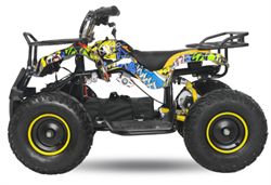 Torino EL-ATV  Premium 1000W, 48V, Yellow/Blue