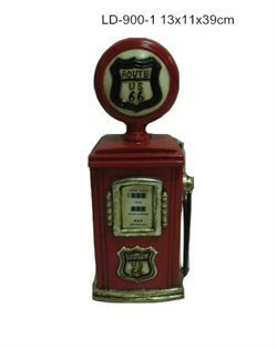 "Retro money bank ""Route 66"" 39cm"