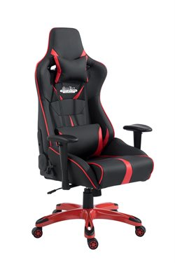 Stanlord Gamerstol Navajo Extreme Black/Red