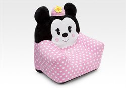 Disney Minnie Mouse oppustelig siddestol